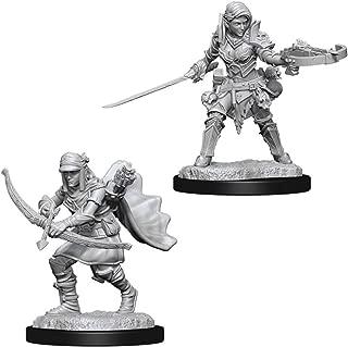 WizKids Pathfinder Deep Cuts Unpainted Miniatures: W7 Female Half-Elf Ranger