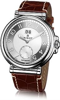 Milus - Milus Zetios Sp01.Wass.Aob - Reloj de automático Unisex, con Correa de Cuero, Color marrón