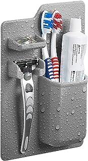 Portacepillos de silicona a prueba de agua / Portacuchillas para artículos de tocador pequeños, Organizador de artículos d...