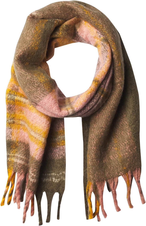 Timberland womens Plaid Blanket Scarf