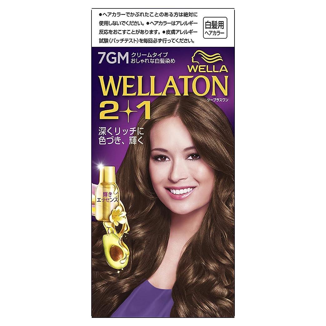 浴室鋼清めるウエラトーン2+1 白髪染め クリームタイプ 7GM [医薬部外品] ×6個