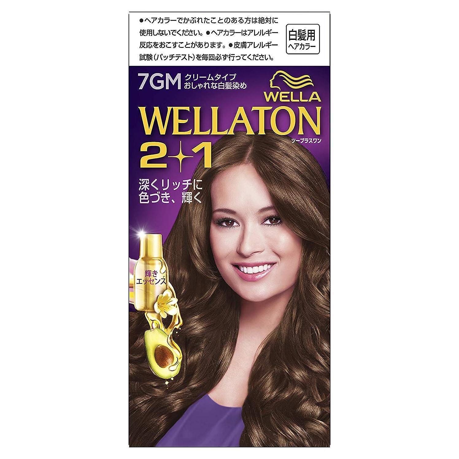 トレイ願望思想ウエラトーン2+1 白髪染め クリームタイプ 7GM [医薬部外品] ×6個