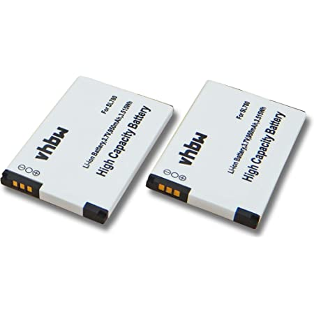 Vhbw 2x Li Ion Akku Set 950mah Für Schnurlos Festnetz Elektronik