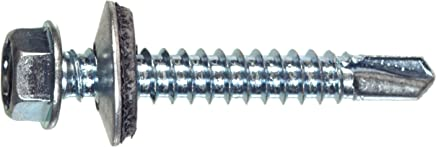 25-Pack 14 x 2-1//2-Inch The Hillman Group 41609 Pan Head Phillips Sheet Metal Screw