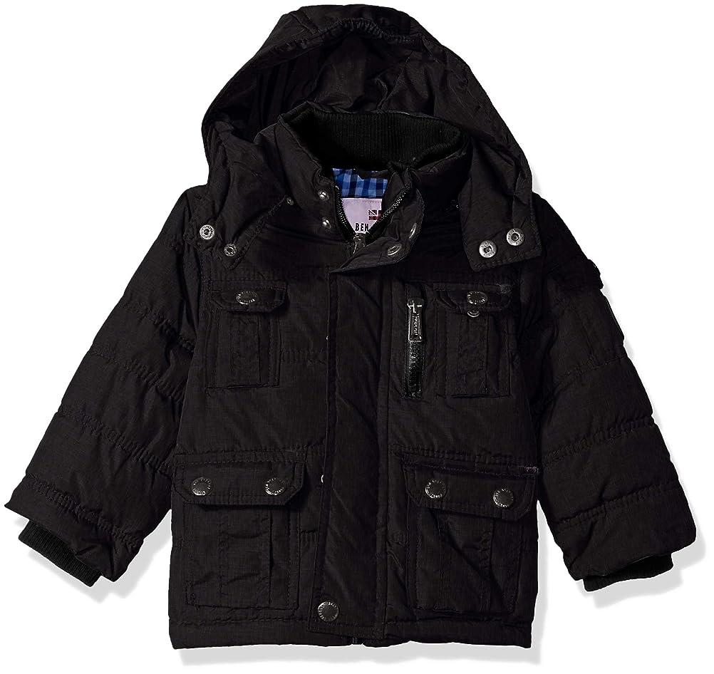 ビーチ徹底勢いBen Sherman Boys' Bubble Jacket with Hood