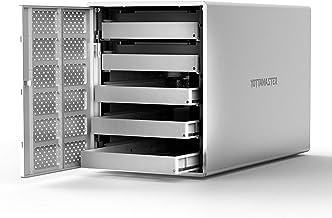 """Yottamaster Aluminum Alloy 5 Bay USB3.0 2.5""""/3.5"""" External Hard Drive RAID.."""