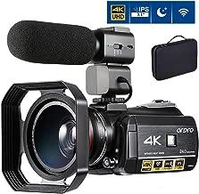4K Camcorder Video Camera ORDRO AC3 4K Ultra HD Digital WiFi Video Camcorder 1080P 60FPS Recorder IR Night Vision 3.1