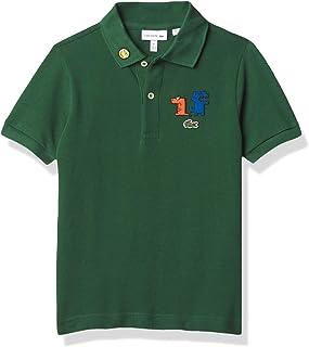 Little Boys Fun Croc Pique Polo Shirt
