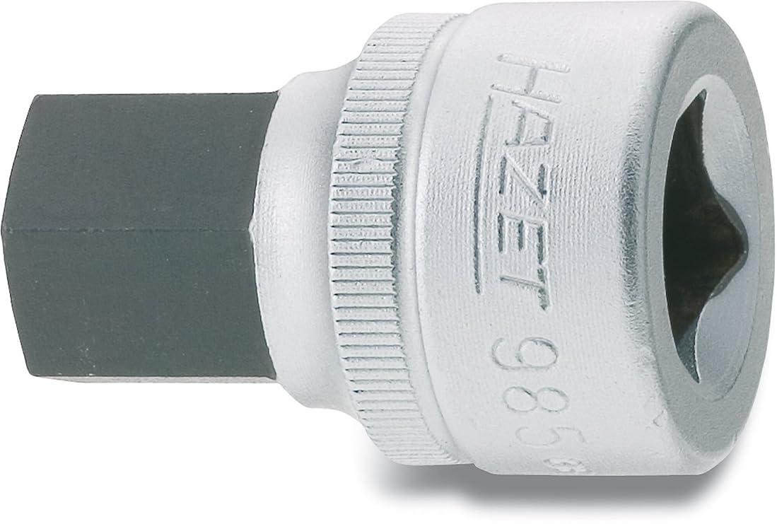 芸術弁護人お互いHAZET ショートヘキサゴンソケット(差込角12.7mm) 985-17 ヘキサゴンソケット