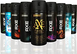 AXE Body Spray MIX within available kind ( Pack of 6)(6X 150 ml/5.07 oz )
