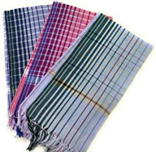 Cotton Colors Cotton Bath Towels (3 Pieces) - Multicolour, 27x54