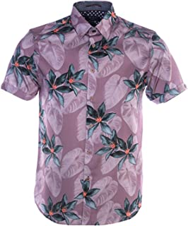 Myles Short Sleeve Shirt in Pink Floral