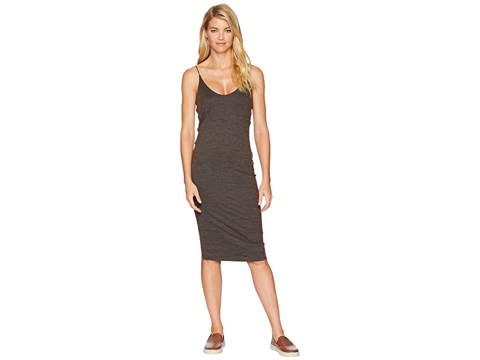 Hurley Reversible Fitted Dress (Dark Russet) Women