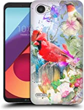 Official Aimee Stewart Birds and Bloom Assorted Designs Soft Gel Case Compatible for LG Q6 / Q6 Plus