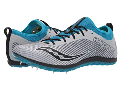 Saucony Havok XC2 (Grey/Blue) Men