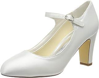 Mrs White 3421-5 Scarpe da Sposa Scarpe Col Tacco Donna