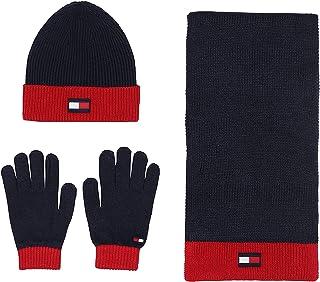 مجموعة هدايا من أكسسوارات الطقس البارد للرجال من تومي هيلفيغر