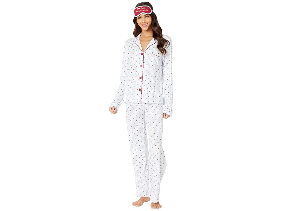 P.J. Salvage Playful PJ Set (Ivory) Women
