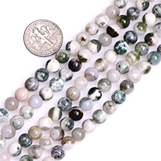 Perlen für Schmuckherstellung, Achat-Stein, 4 mm, rund, Nat