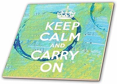 8-Inch Sydney Travel-Ceramic Tile 3dRose ct/_173322/_3 I Want to Go Somewhere Far Far Away Map
