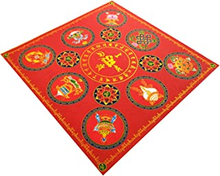 ZeeStar Ancestor Incense Paper/Ghost Money for Ancestor Praying 7.6 inches X 7.6 inches,40pcs - Auspicious Lotus