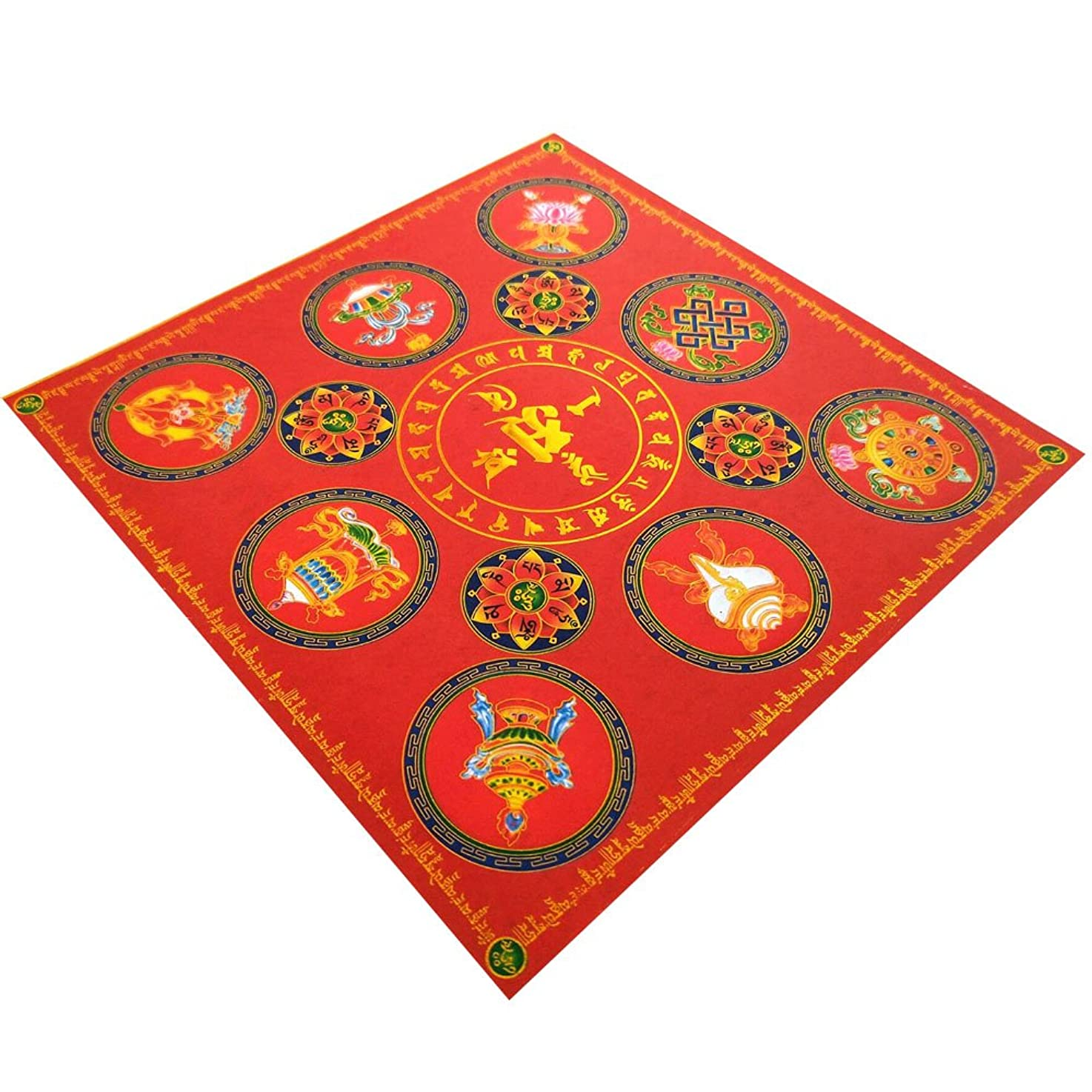 うがい非武装化達成zeestar祖先Incense用紙/ゴーストお金の祖先Praying 7.6インチx 7.6インチ、40個?–?吉祥(Lotus