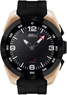 Shuusisses Reloj Bluetooth Pulsometro/Reloj Deportivo/Reloj Deportivo Bluetooth Reloj Bluetooth Pulsera Acuatico / INTG5 Recordatorio Sedentario Monitoreo del Sueño - Oro