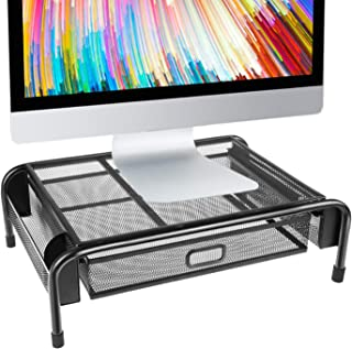 Best mesh monitor stand with drawer Reviews
