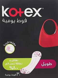 فوط كوتكس للنساء للاستخدام اليومي برائحة خفيفة, 6281002430253 , , 30 Pads, ,, 1