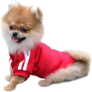 hongyupu hundekleidung Sommer Hunde Mantel Sommer Welpenmantel Haustier-Kleidung Kleidung f/ür Hunde Hundekleidung f/ür kleine Hunde Blue,xs