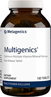 Metagenics Multigenics® – Optimum Multiple Vitamin/Mineral Formula Fast-Release Tablet – 30 servings