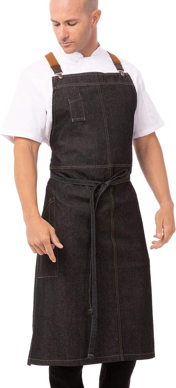 Selling Chef Works Unisex Berkeley Bib Apron Chefs Max 72% OFF