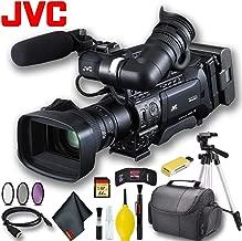 JVC GY-HM850U ProHD Compact Shoulder Mount Camera with Fujinon 20x Lens Pro Bundle
