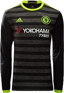 adidas Chelsea Away Long Sleeve Soccer Jersey 2016-17 (2XL)