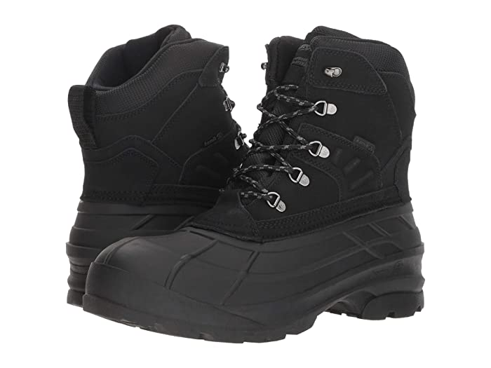 Kamik  FargoWide (Black) Mens Cold Weather Boots