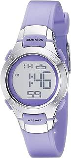 purple waterproof watch