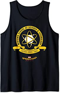 Marvel Spider-Man Homecoming Midtown School Of Science Logo Tank Top
