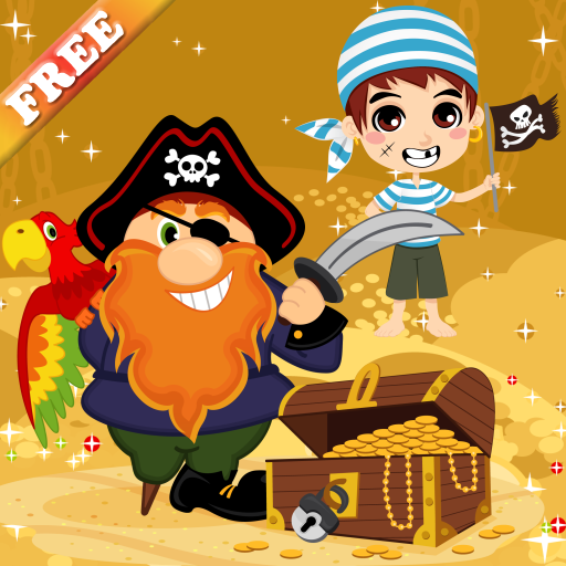 Pirates Games for Kids and Toddlers : discover the world of pirates !...