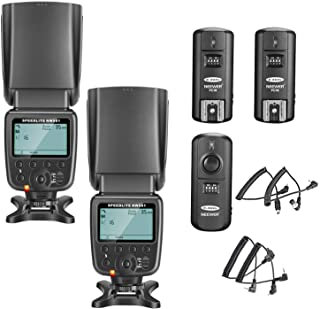 Neewer-Kit de Flash Speedlite NW-561 con Pantalla LCD para