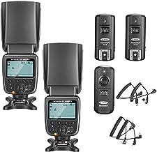 Neewer 2 Packs NW561 Flash Speedlite Kit for Canon Nikon Panasonic Olympus Pentax Fijifilm and Sony Mi Hot Shoe Cameras wi...