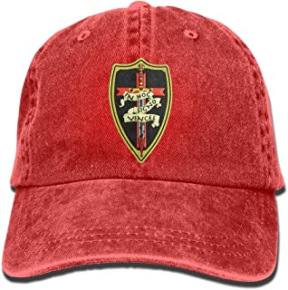 Knights Templar Funny Denim Cap Trucker Hat Black