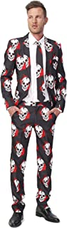 Halloween Suits for Men in Different Prints and Colors – Adult Costumes Include Jacket Pants & Tie