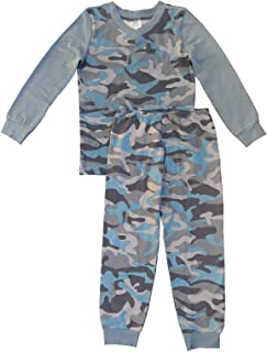 Esme Boys Sleepwear Pajamas Long Sleeve Top & Pant Set