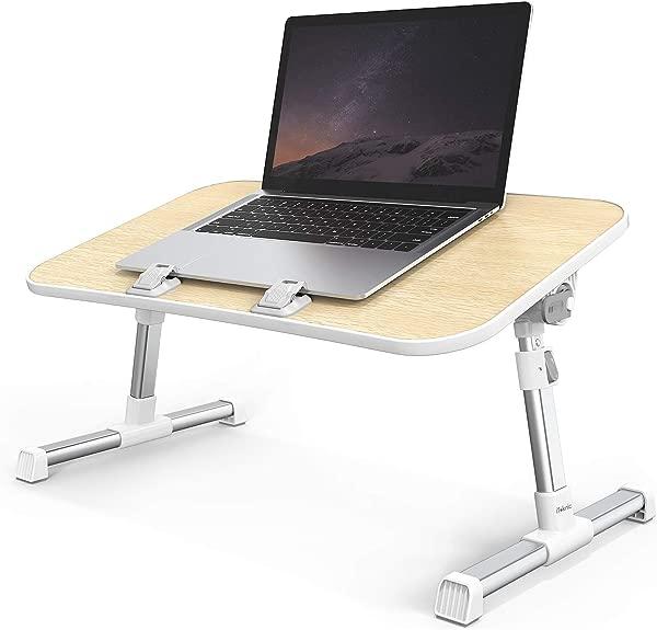 笔记本电脑桌 ITeknic 笔记本电脑桌可调节笔记本电脑床托盘可折叠笔记本电脑床桌便携式笔记本电脑床支架沙发床沙发地板汽车