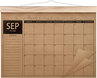 2020-2022 Calendar - 18 Monthly Academic Desk or Wall Calendar Planner, Thick Kraft Paper Perfect for Organizing & Plannin...