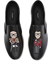 Dolce & Gabbana - Patches Slip-On Sneaker