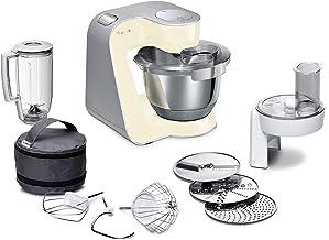 Bosch MUM58920 CreationLine keukenmachine, roestvrij staal, 3,9 liter Zonder citruspers. 27.1 cm l x 28.2 cm w x 28 cm h B...
