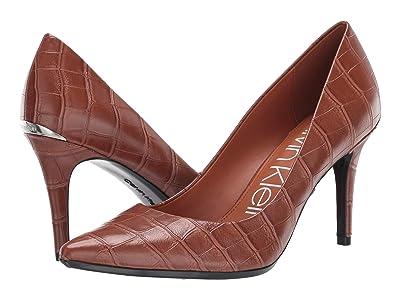 Calvin Klein Gayle Pump (Cuoio) High Heels