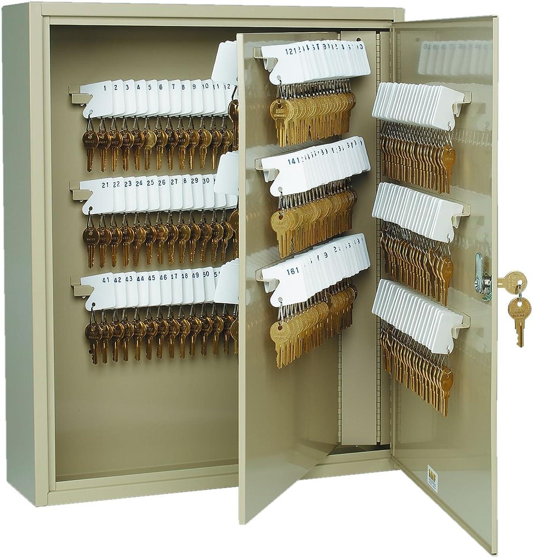STEELMASTER Unitag Locking 240-Key Cabinet, 16.5 x 20.13 x 4.88 Inches, Sand (201924003)