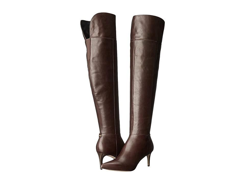 Calvin Klein Coletta (Coffee Bean Leather) Women
